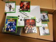 Konsola Xbox One S 500GB 4K HD + 6 gier!! Zestaw