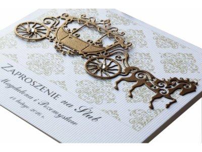 Próbki Zaproszenia ślubne Retro Od Royaldekor 6088622000