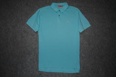 PUMA_niebieska koszulka polo_logo_XL_