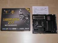 ASUS Z77 SABERTOOTH - LGA 1155 - pełen komplet BOX