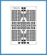 Płytka Drukowana Lutownicza PDU-01 69x100 SMD