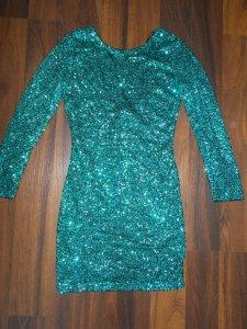 57b6cab13c H M CUDNA zielona sukienka CEKINY 34 - 6316202286 - oficjalne ...
