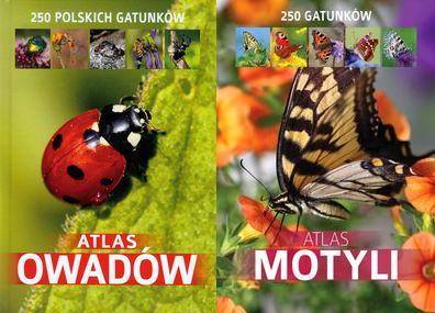 Atlas owadów + Atlas motyli