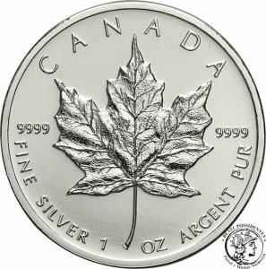 Kanada 5 dolarów 2012 listek st.1