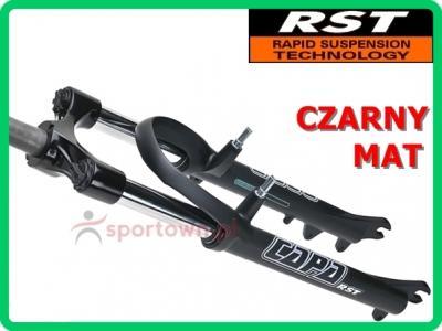 Amortyzator 26' 1'' RST CAPA T czarny widelec Wwa