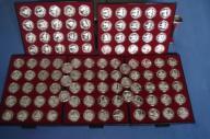 Pielgrzymki  JANA PAWŁA II   kolekcja 106 monet