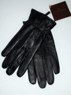 Rękawiczki skórzane, VIP Collection, świetna cena