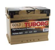 AKUMULATOR TUBORG GOLDTECH 66AH 640A P+