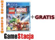 LEGO MARVEL SUPER HEROES PS4 NOWA PL + GRATIS!