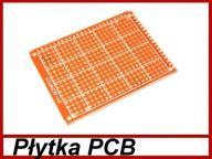 Płytka PCB 5x7cm uniwersalna jednostronna ..... x1