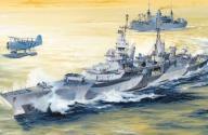 Trumpeter 05327 USS Indianapolis CA-35 1944 (1:350
