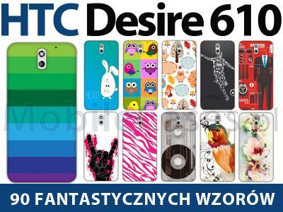 Htc Desire 610 Fantastic Case Etui 2x Folia 4408435280 Oficjalne Archiwum Allegro