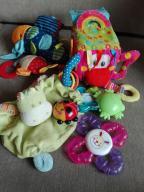 Zabawki niemowlęce zestaw 5 szt