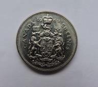 KANADA 50 cents 1969