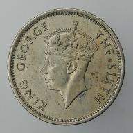 1948 Malaje brytyjskie Jerzy VI - 10 centów