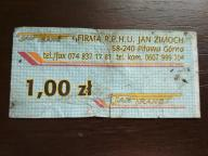 bilet u99 Piława Górna
