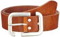 Cross Jeans Unisex 0182K Plain Belt, Brown (Cognac