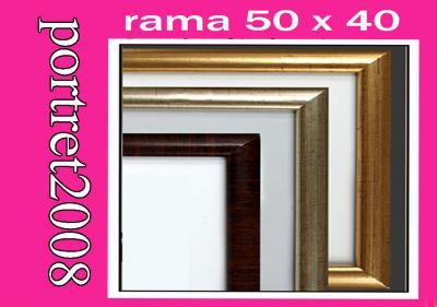 rama ramki ramy ramka oprawa fotorama plexi 50x40