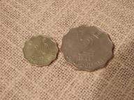 Zestaw monet Hong Kong 2 szt.każda inna.