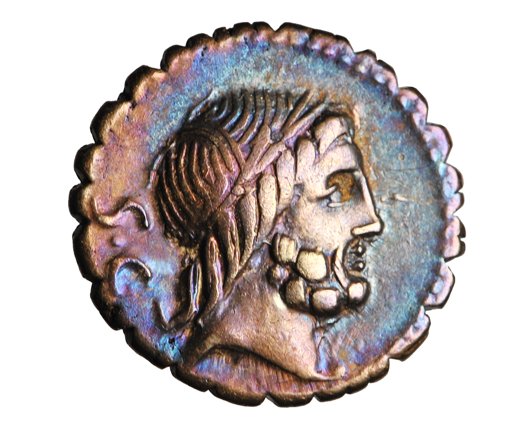 REPUBLIKA, Q. Ant. Balbus, denar, 83-82 BC, PIĘKNY