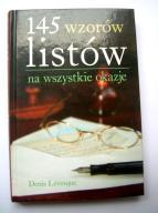 145 wzorów listów na wszystkie okazje D. Levesque