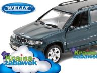 BMW X5 SKALA 1:34-39 MODEL WELLY - ŁÓDŹ !!!