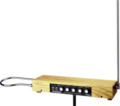 MOOG THEREMIN ETHERWAVE PLUS: Bezdotykowy instrume