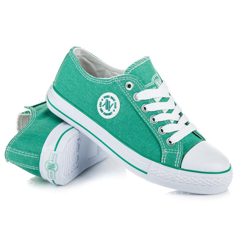 TRAMPKI NEW AGE 41 zieleń sportowy buty 7041040024