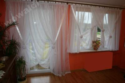 Komplet Firan Na Podwójne Drzwi Balkonowe I Okna