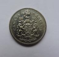 KANADA 50 cents 1974
