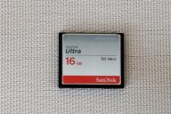 SanDisk CF 16 GB ULTRA 50MB/s Compact Flash