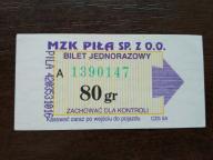 bilet u99 Piła CZG SA