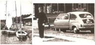 AUGUSTÓW -- PRZYSTAŃ - ŻAGLÓWKI - FIAT 600 -- 1964