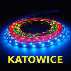 TAŚMA LED RGB LISTWA DIODY LEDOWA 5M 3 KOLOROWA