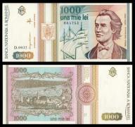 Rumunia 1000 lei 1993r. P-102