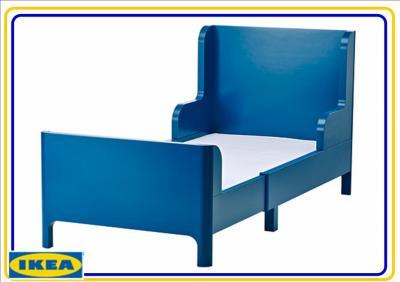 łóżeczko Busunge Regulowana Rama łóżko Ikea Blue