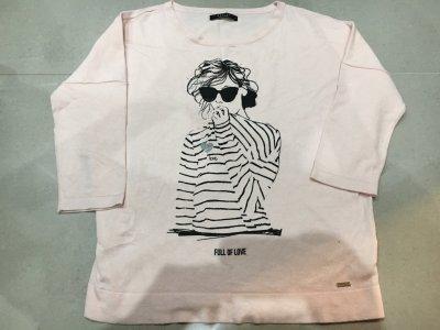 Cudny sweterek Mohito 38/M róż twarz