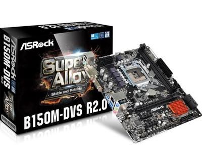 Płyta główna ASROCK B150M-DVS R2.0 Intel 1151