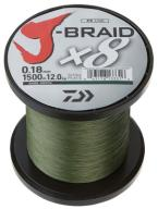 Plecionka Daiwa J-Braid X8 0,28mm-26,5kg. 500m. Gr