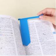 Suwakowa zakładka do książki - niebieska