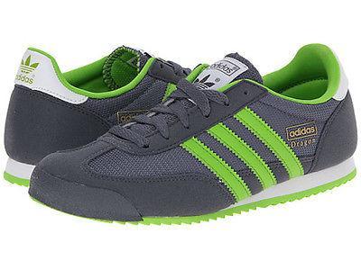 Buty Adidas M25210 Dragon J szare zielone 36 5147371531