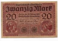 NIEMCY 20 MARK 1918 B10