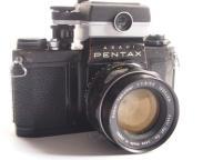 Aparat Pentax SV + obiektyw takumar 1.8 55mm