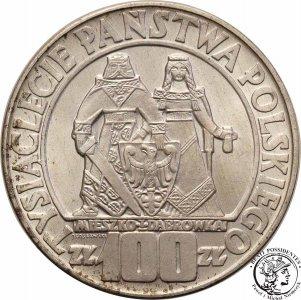 100 złotych 1966 Millenium Mieszko i Dąbrówka st.1