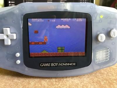 Game Boy Advance z podświetleniem / AGS-101 / BOX