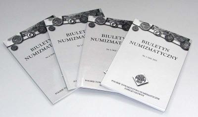 5155. Biuletyn Numizmatyczny - Rok 2011 - komplet