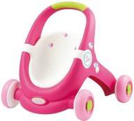 Smoby Minikiss Wózek dla lalek Chodzik Pchacz 2w1