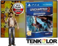 UNCHARTED 2 AMONG THIEVES REMASTERED PS4 PO POLSKU