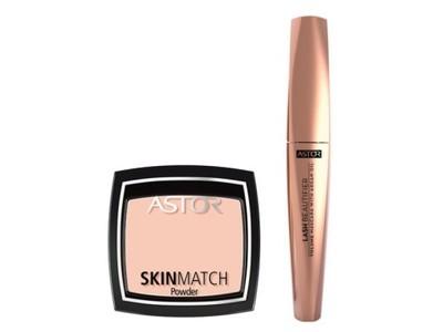Astor Lash Beautifier mascara 10ml + puder 100 7g