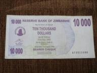 809.ZIMBABWE 10 000 DOLARÓW